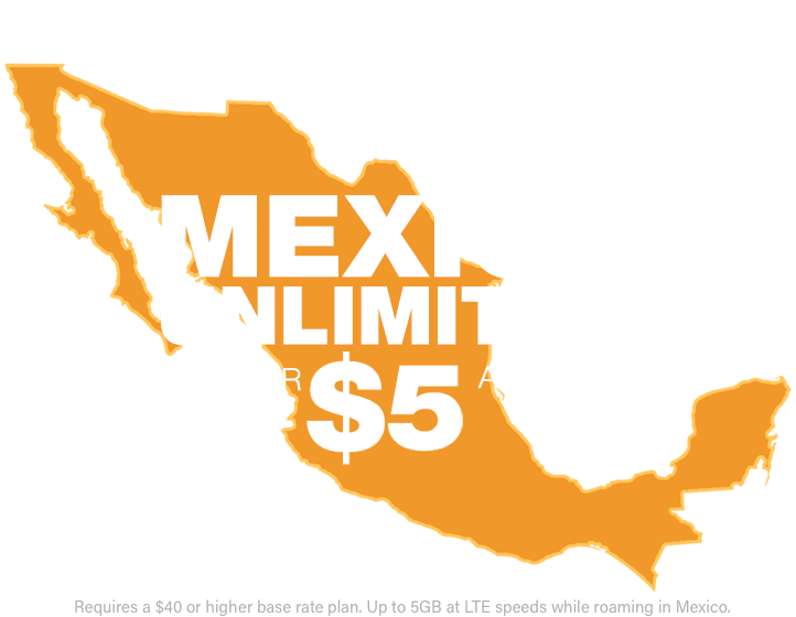 México png writing. Mexico unlimited international calling