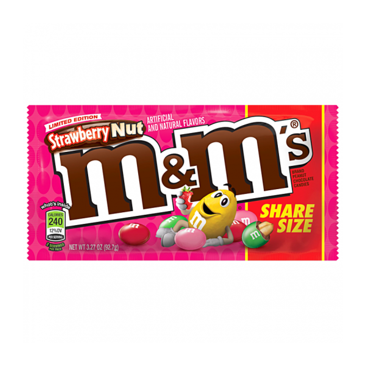 M and ms png. S strawberry nut share
