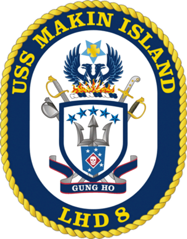Archivo uss makin island. M crest png clip black and white