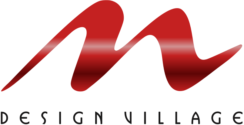 M logo design png. Home village