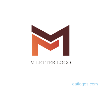 M logo design png. Editable designs download vector