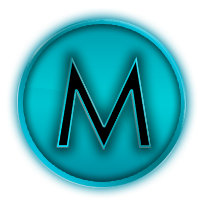 M logo design png. Ico by micahpkay on