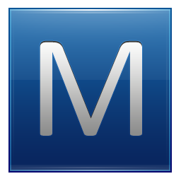 M vector icons. Letter png free and