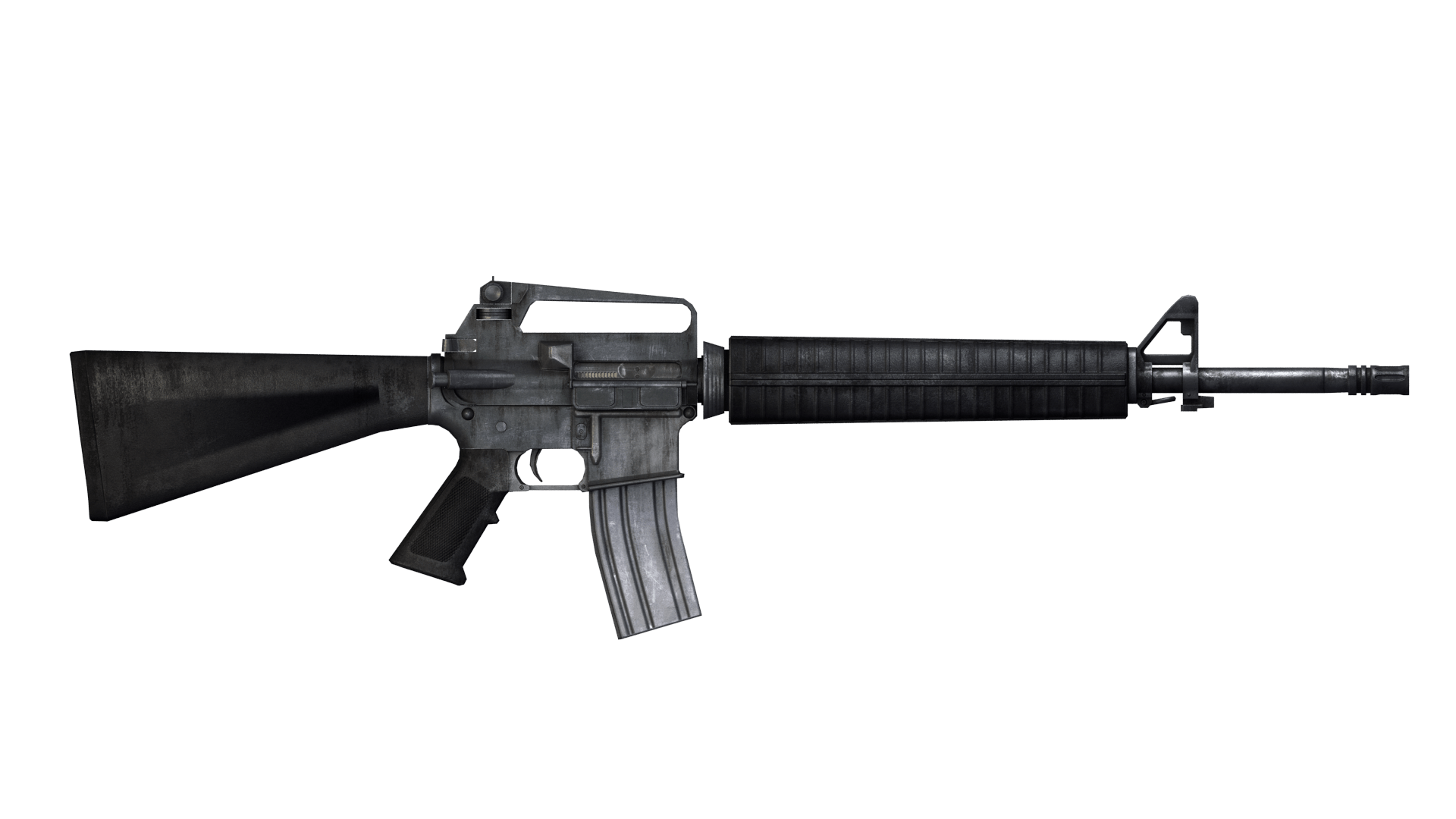 Transparent rifle. M assault png stickpng