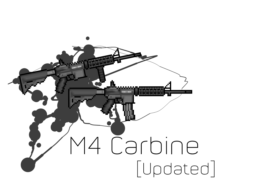 M4 vector drawing. M rifle at getdrawings