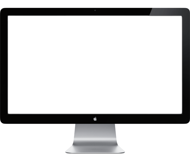 Mac apple monitor png. Imac transparent svg library