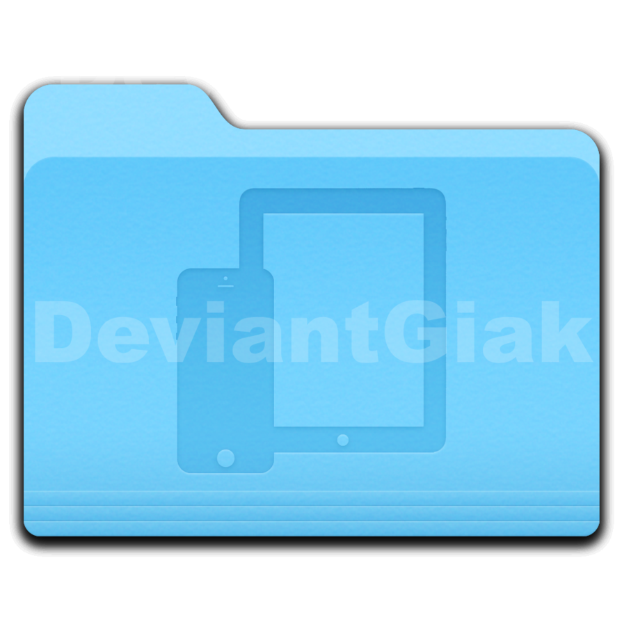 Mac Folder Icon Transparent & PNG Clipart Free Download - YA-webdesign