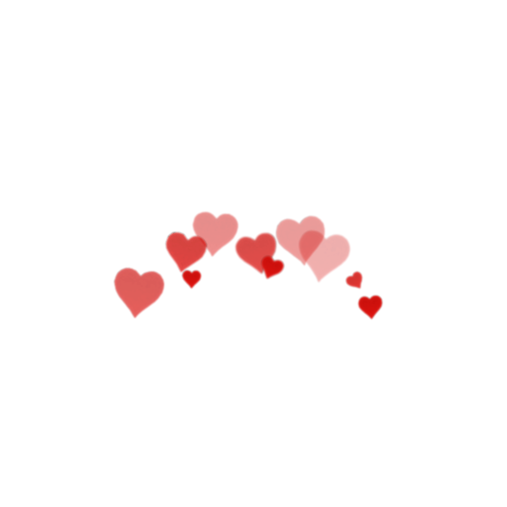 Crown heart red tumblr. Mac hearts png picture transparent stock