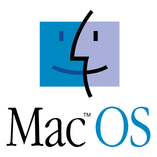 Svg mac png. Os logo transparent vector