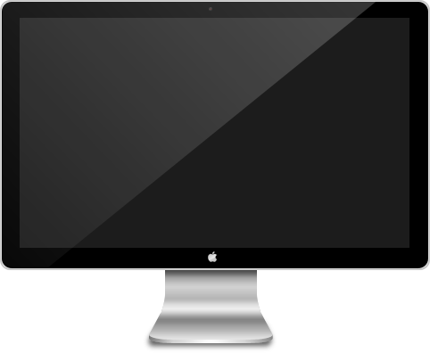 Mac screen png. Apple icon superpack by