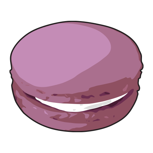 Macaroon drawing wallpaper. Macaron cartoon reviewwalls co
