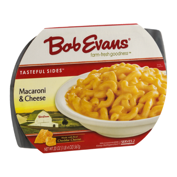 Macaroni and cheese png. Bob evans tasteful sides