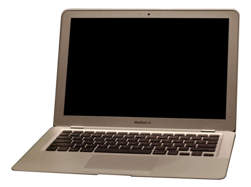 Download free image with. Macbook air png transparent background vector library download