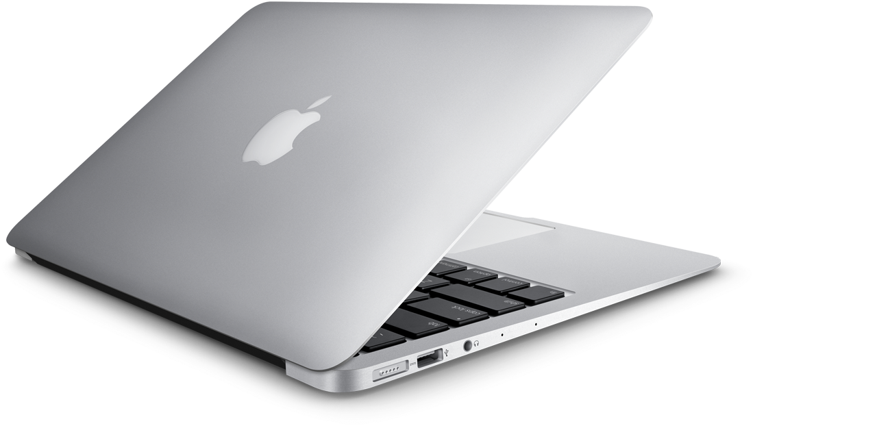 Apple laptop png. Macbook image with transparent