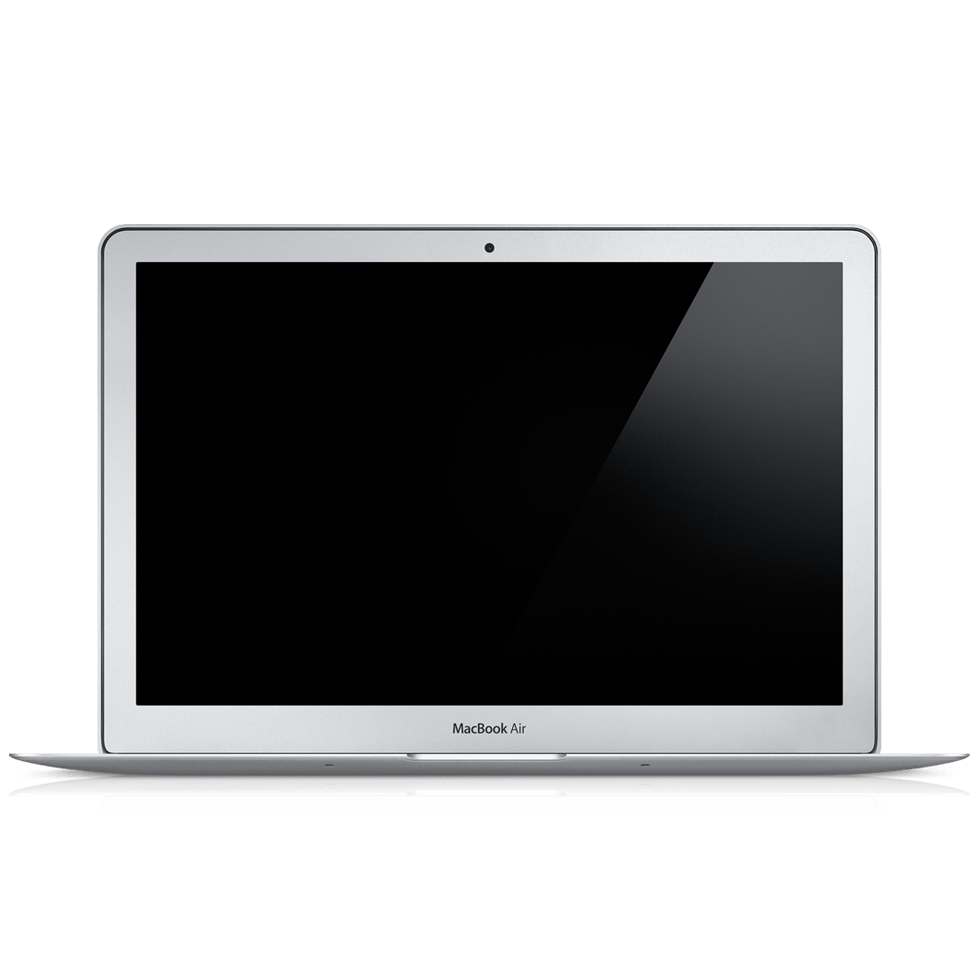 Mac book png. Macbook air laptop transparent