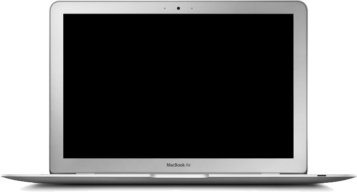 Images of spacehero background. Macbook air transparent png image black and white