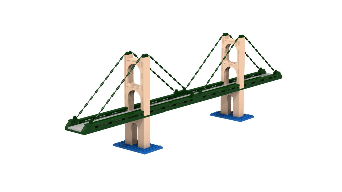 Mackinac bridge png. Lego ideas product project