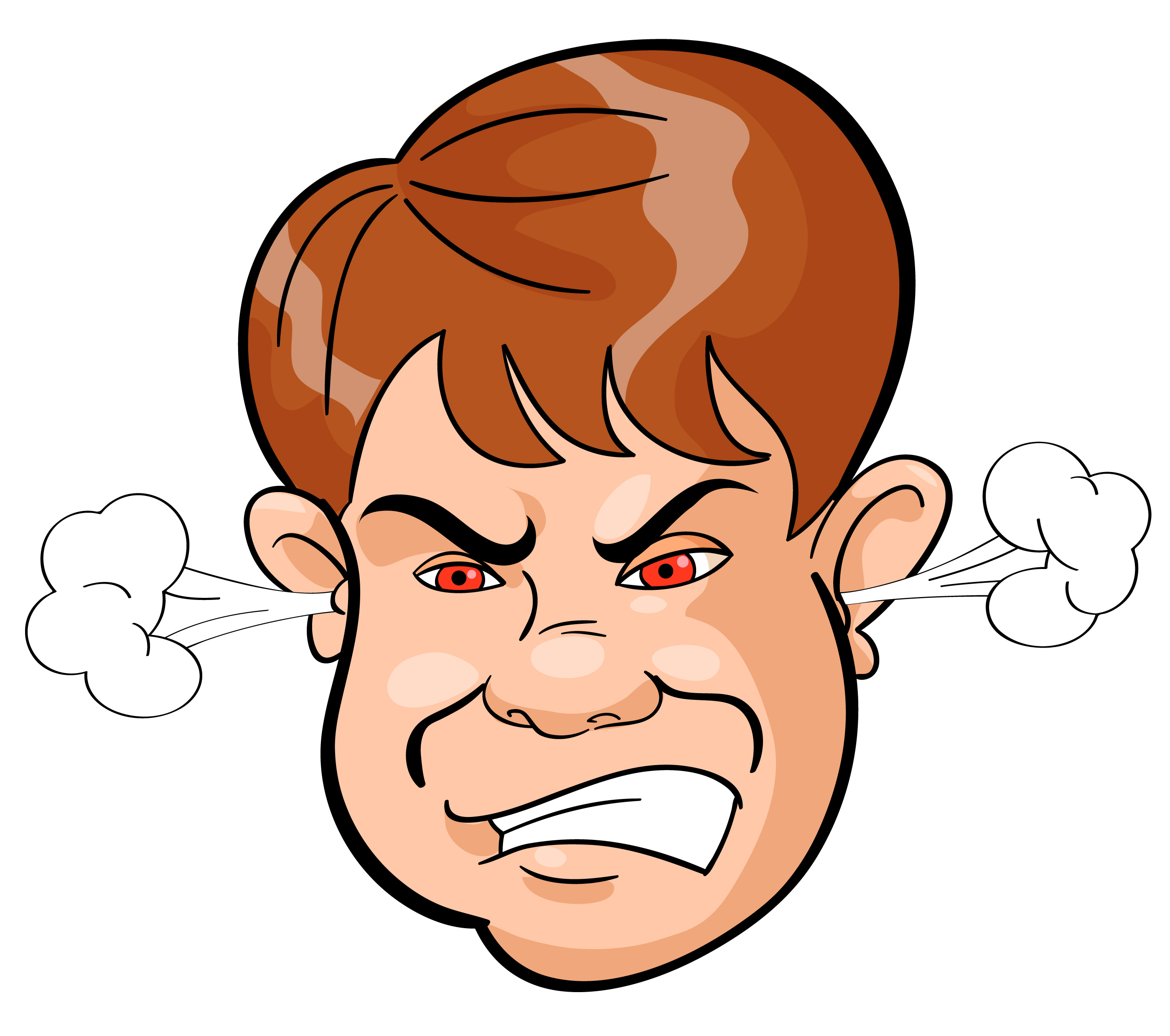 Anger clipart. Clip art pictures panda