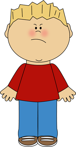 Mad clipart transparent. Boy with an angry