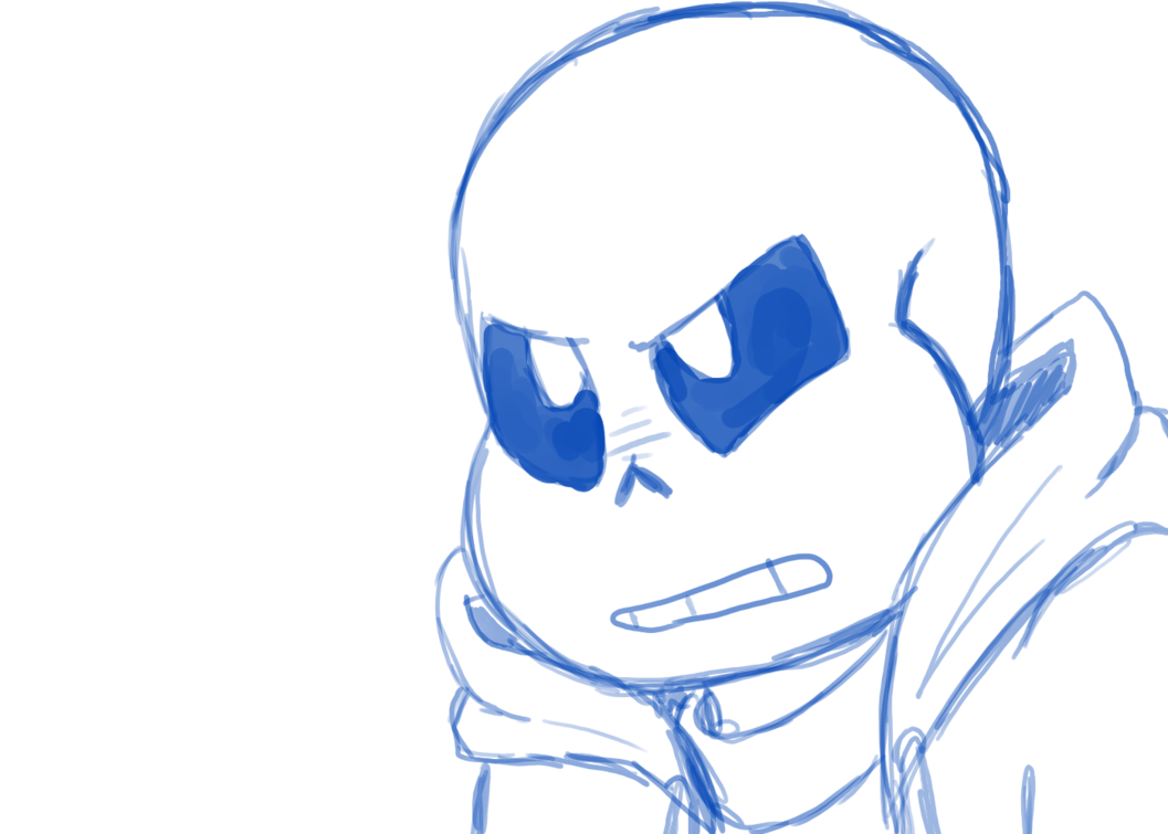 Mad drawing eyebrow. Sans by kroscythe on