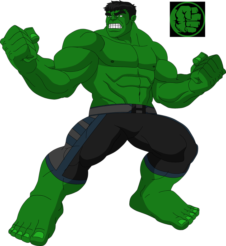 Mad drawing hulk. By steeven on deviantart