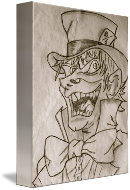 Mad drawing joe. Hatter by chambers