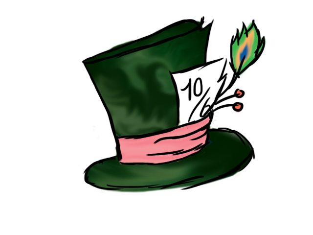 Mad hatter hat png. Hatters by h nnaa