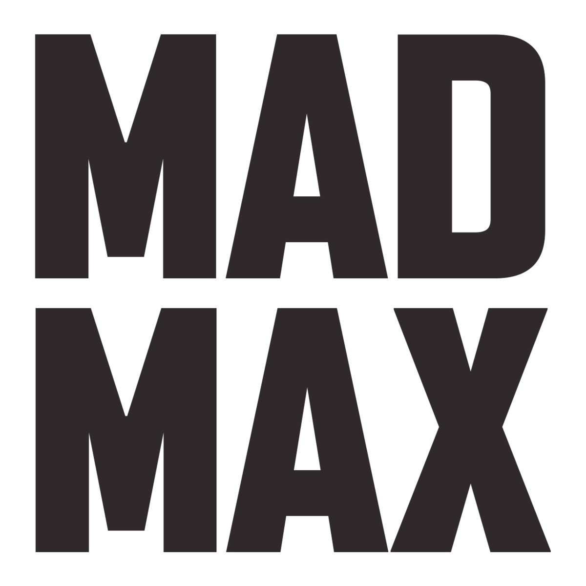 Mad max logo png the future. Franchise wikipedia