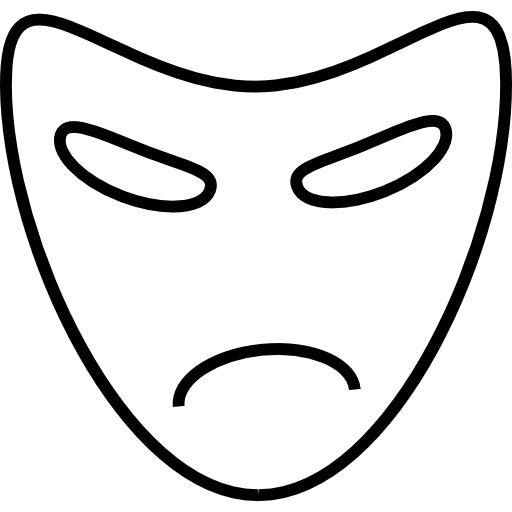 Mouth svg mad. Icon png