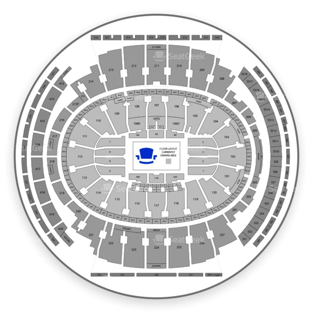Madison square garden png. Seating chart comedy map