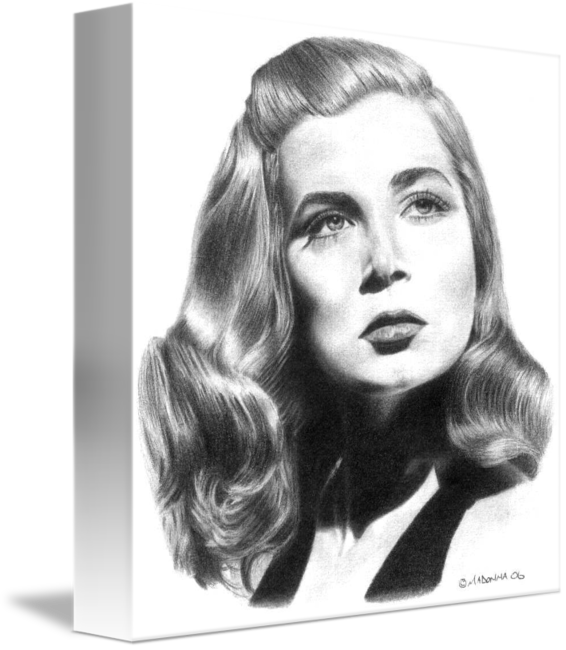 Madonna drawing. Lizabeth scott by stephen