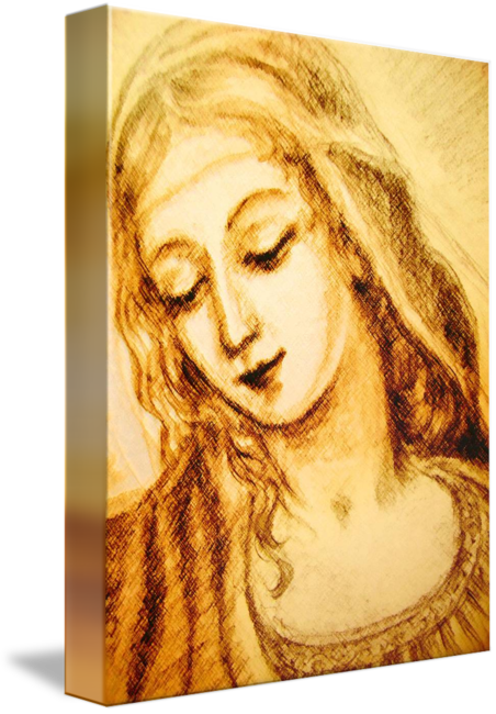 Madonna drawing. A detail by ananda