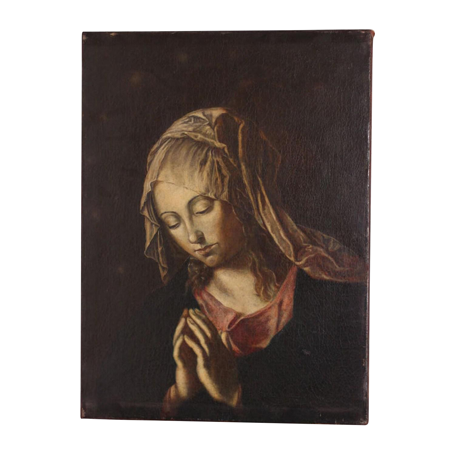 Madonna drawing phone. Superior early th century