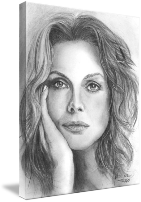 Self drawing celebrity. Pencil drawings celebrities face