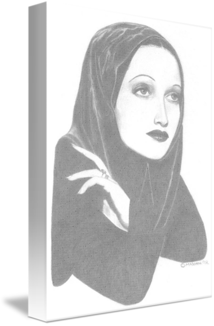 Madonna drawing realistic. Dorothy lamore by stephen