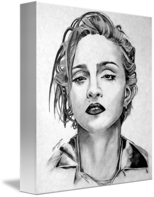 Madonna drawing. By scott allen smith
