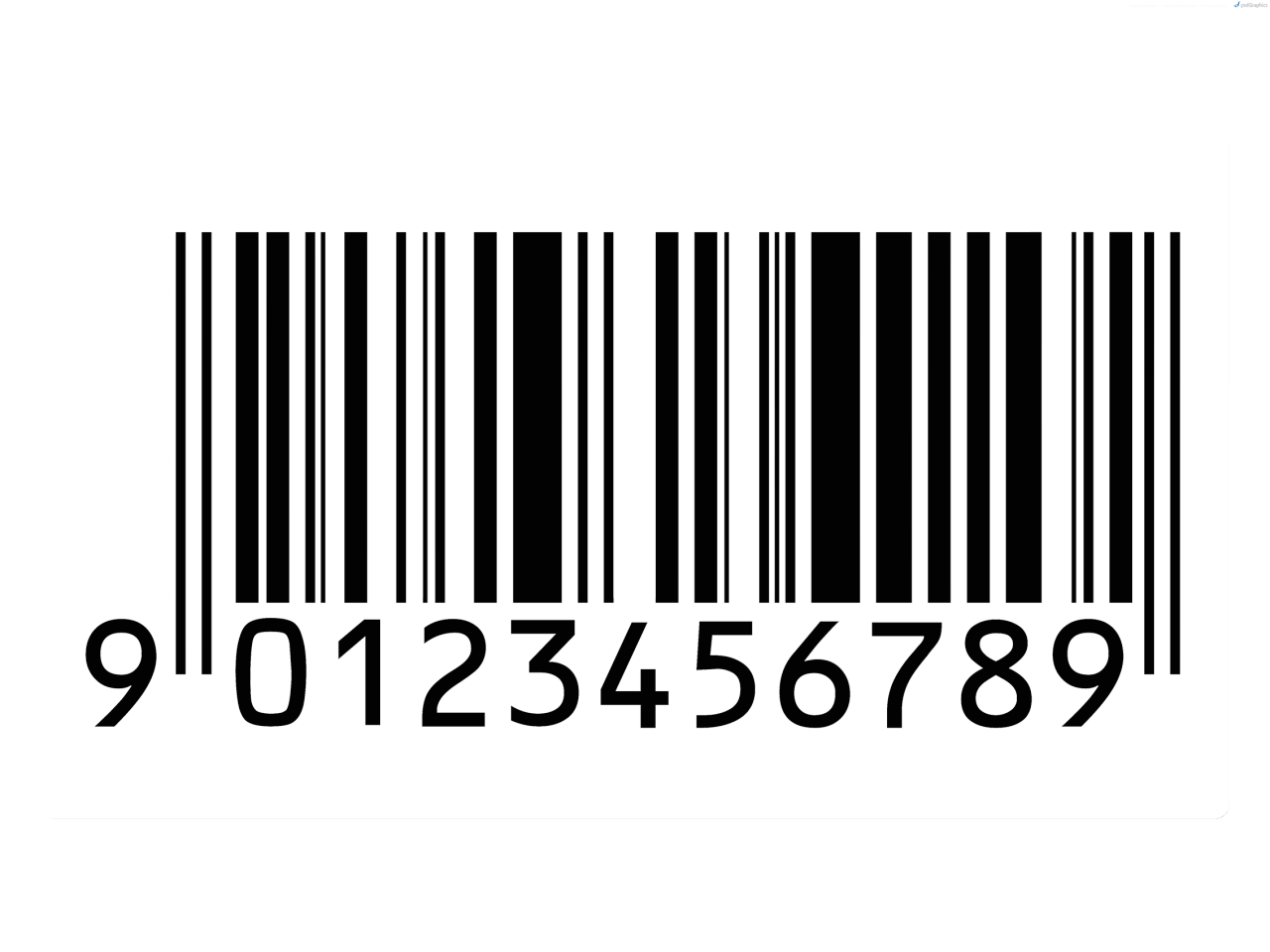 Fashion magazine png. Creative free source barcode