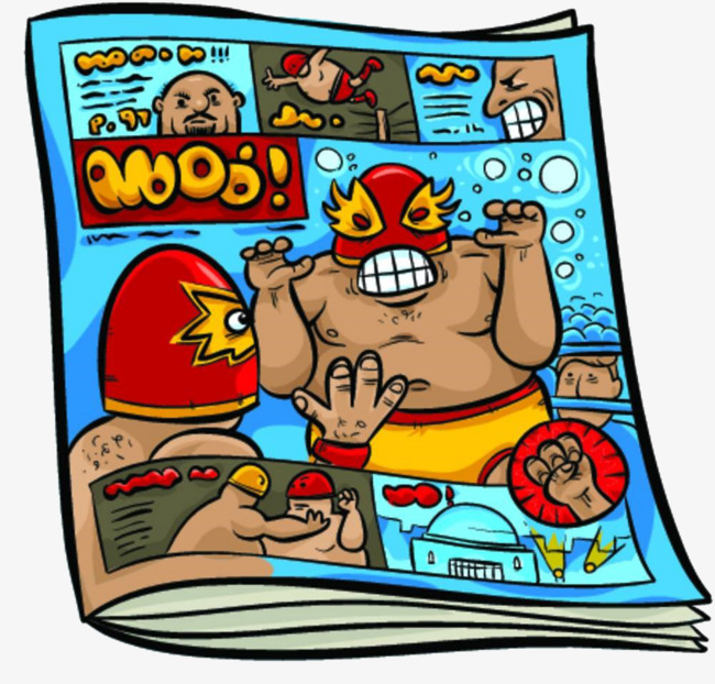 Magazine clipart. Hand painted color png