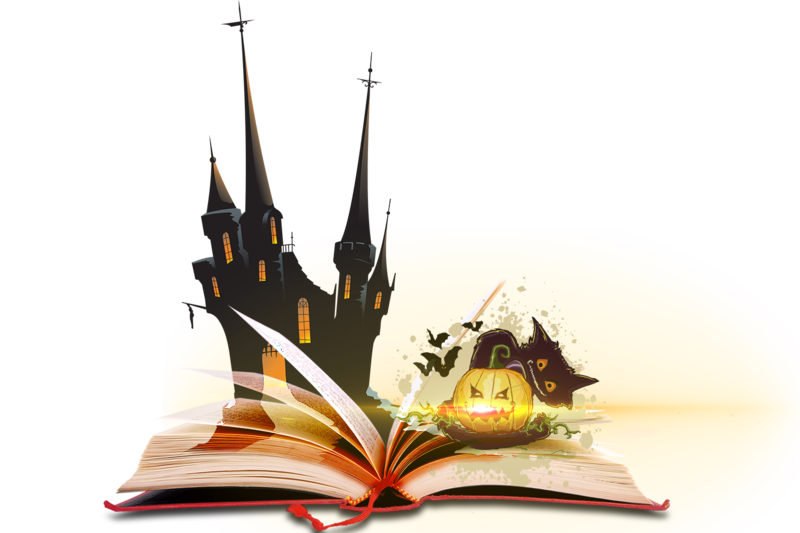 Magic book png. Halloween by lg design