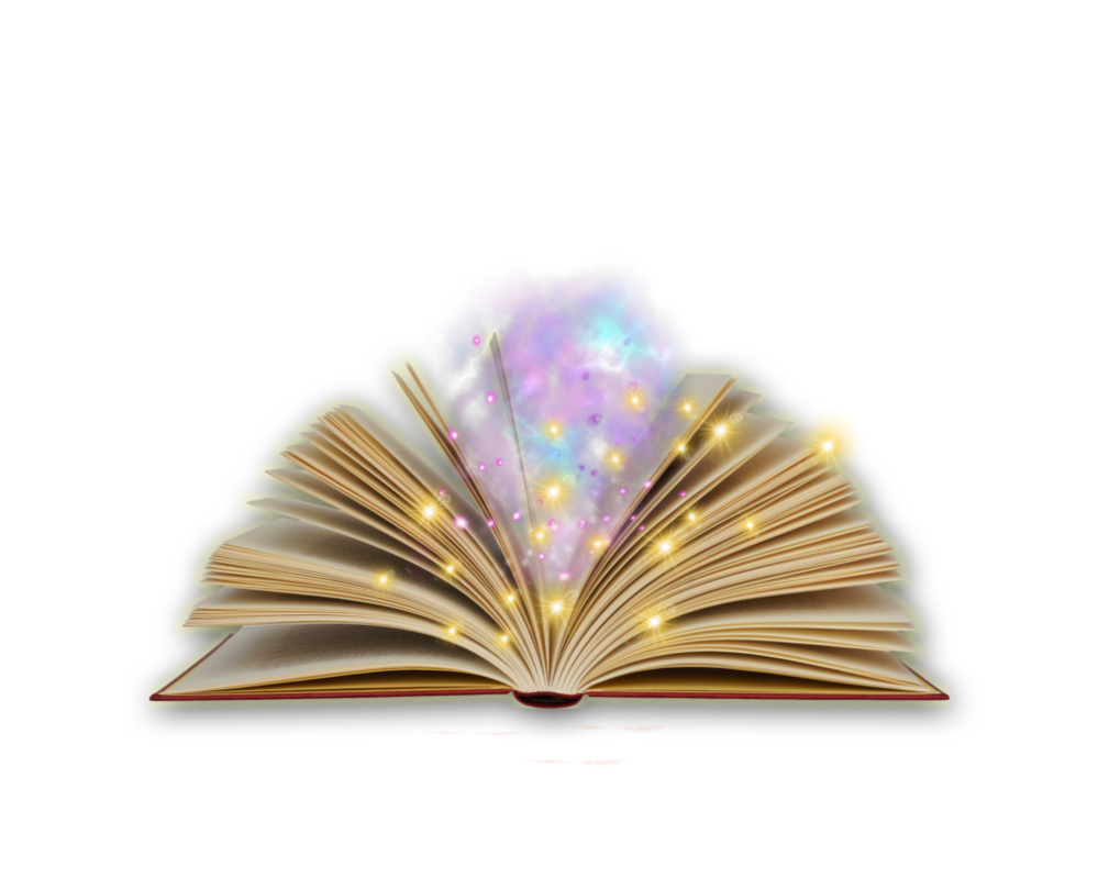 Magic book png. By moonglowlilly on deviantart