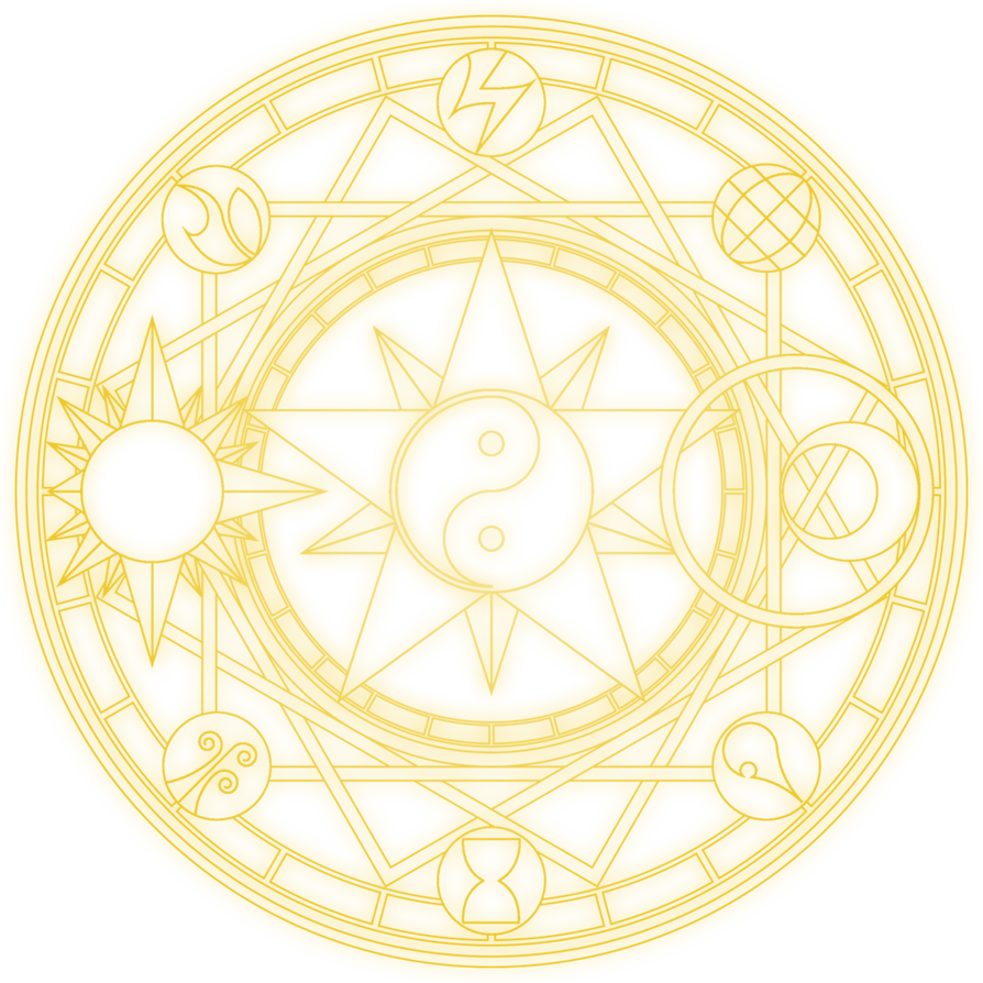 Magic circle png. My by thetempestwind on