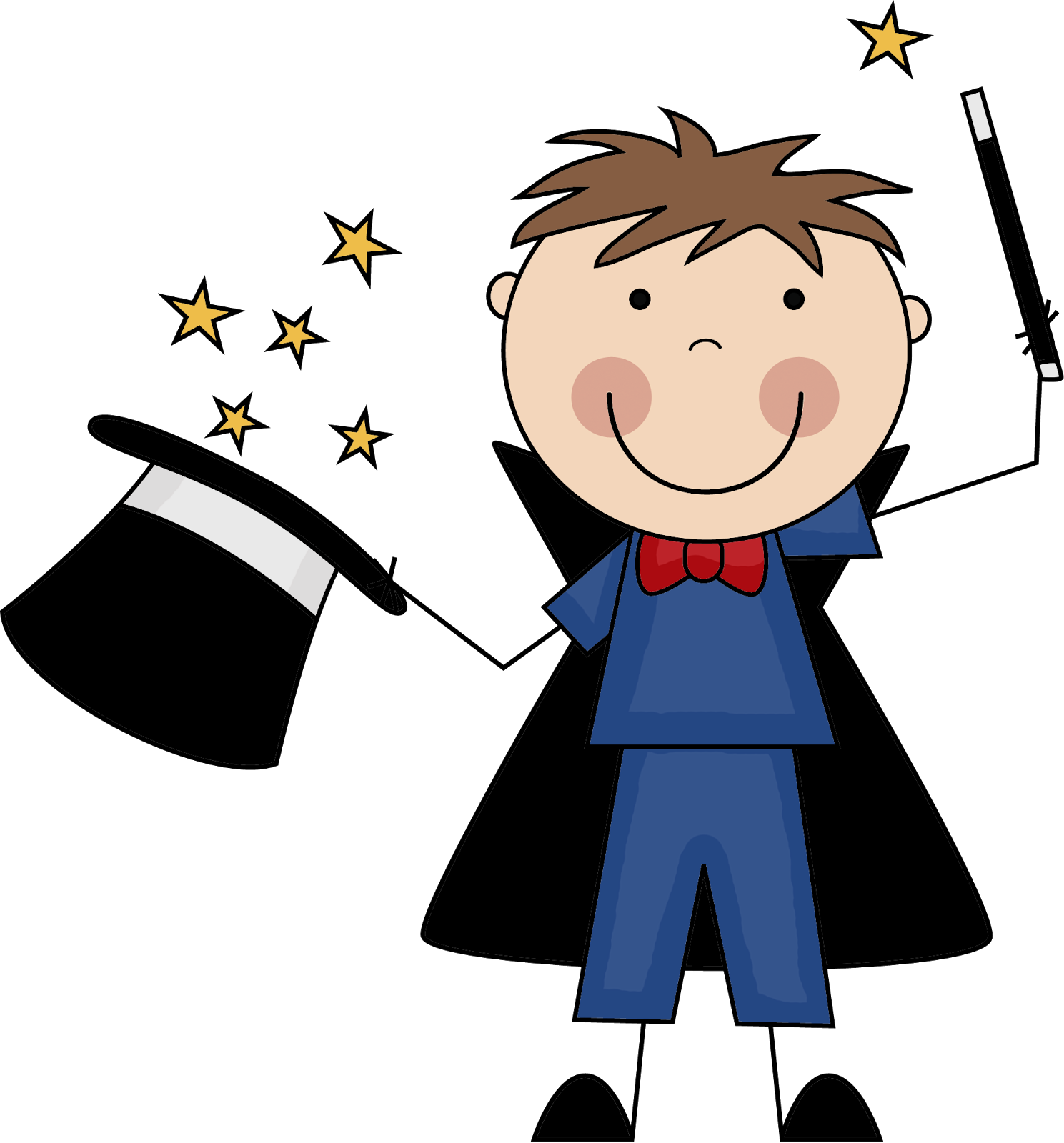 Students transition smoothly with. Magician clipart tricky clip