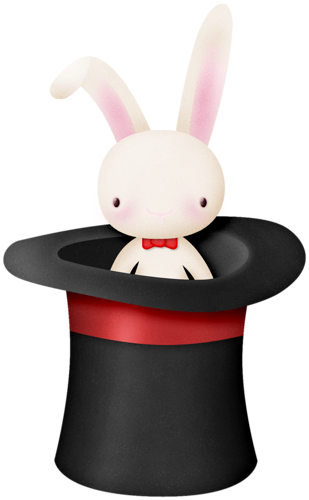 Magician clipart circus. Hat with rabbit images