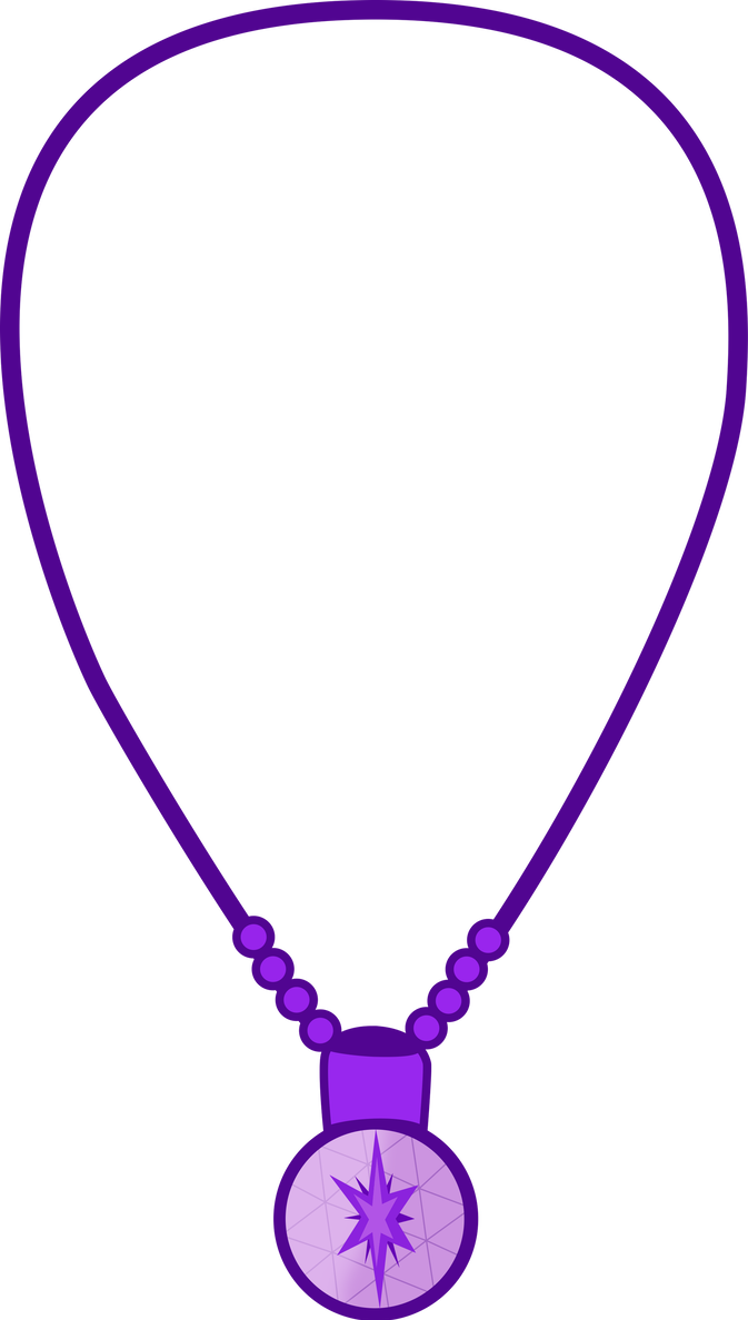 Magic clipart purple sparkles. Twilight sparkle s necklace