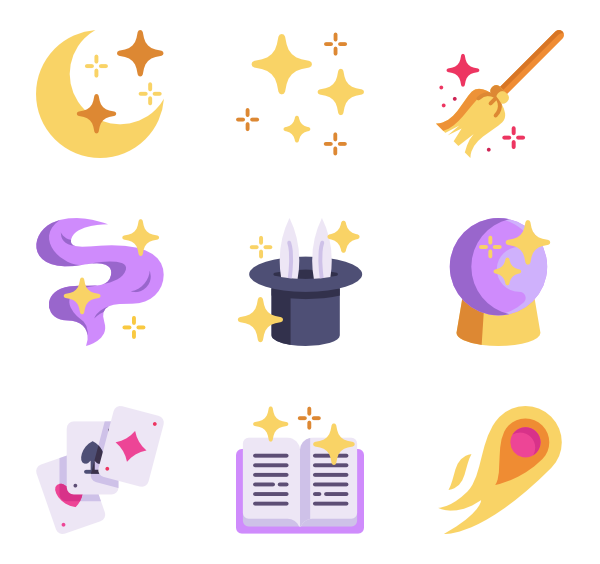 Magic png. Icon packs vector