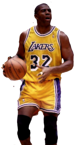 Magic johnson png. Psd official psds share
