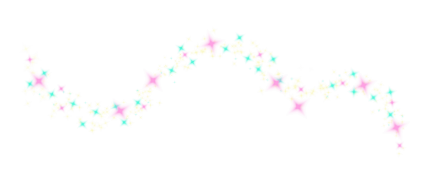Magic sparkles png. Trail of