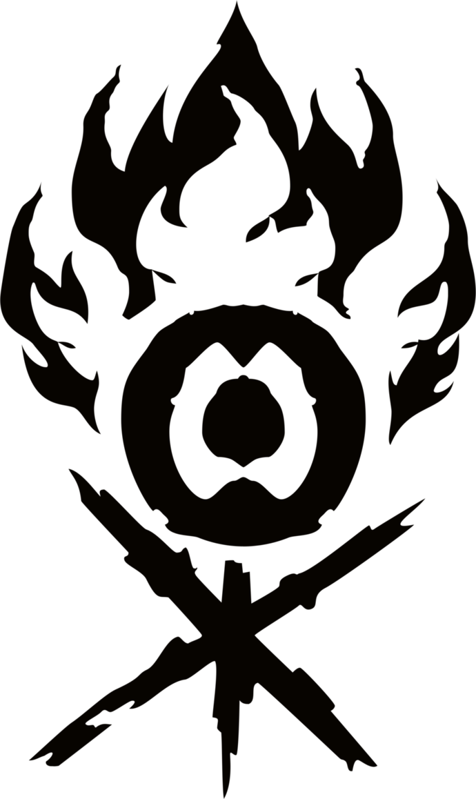 Magic symbol png. Gruul clans guild by