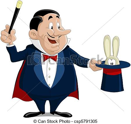 Magician clipart. The pulls out a png free library