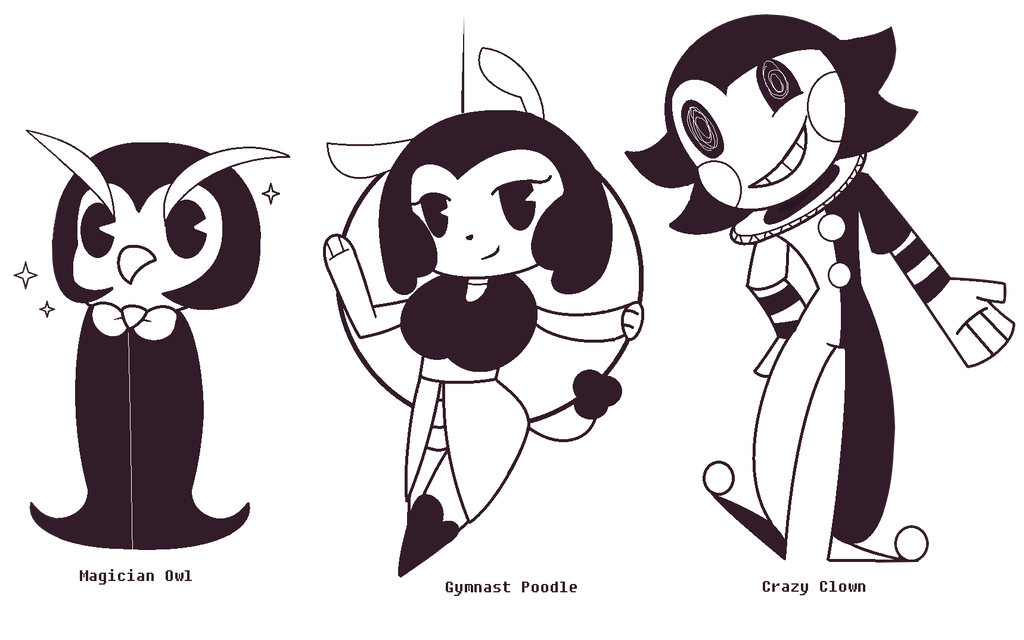 Adopts toons open by. Magician clipart circus graphic black and white download